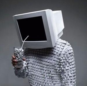 Uomo computer