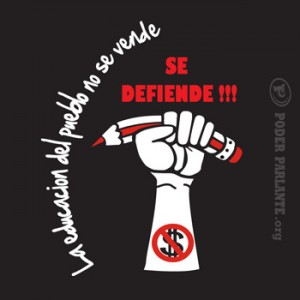 Manifesto Cile mano