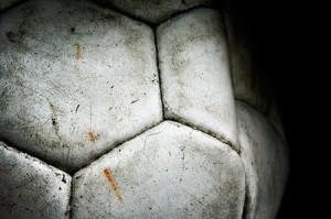 Pallone calcio B&W