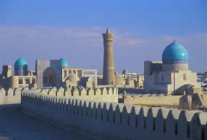 Uzbekistan paesaggio